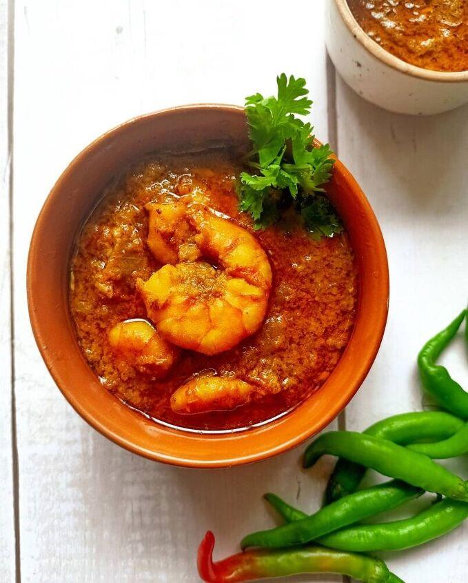 prawn curry with coconut milk