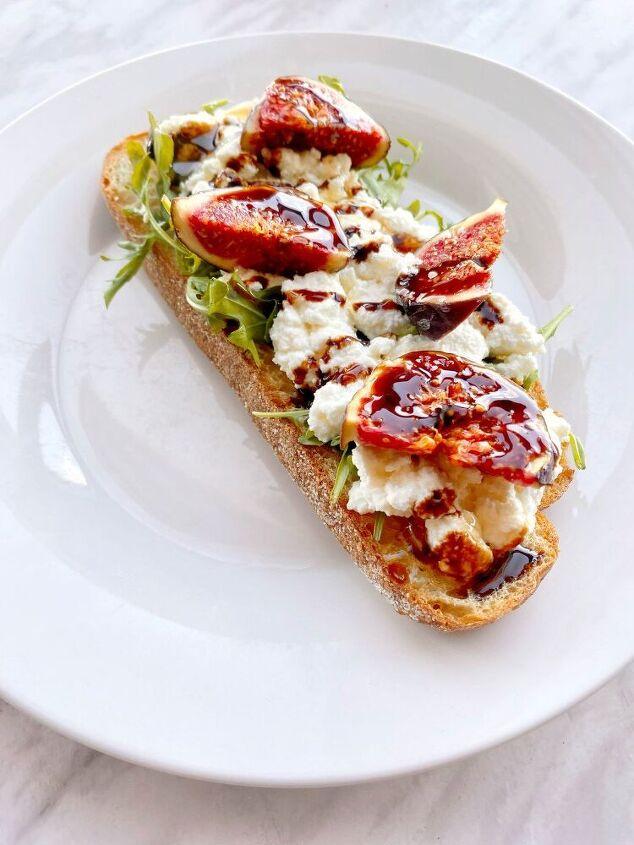 sweet fig toast