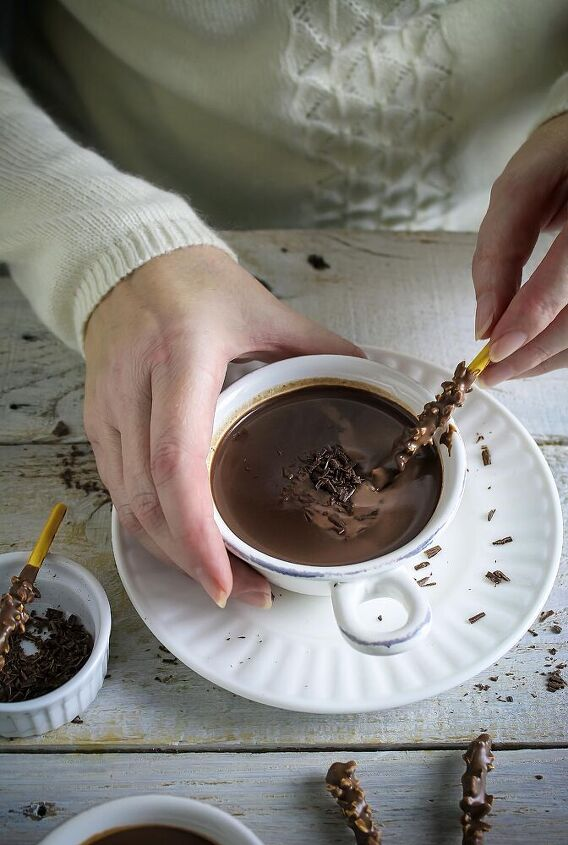 real french hot chocolate european sipping chocolate