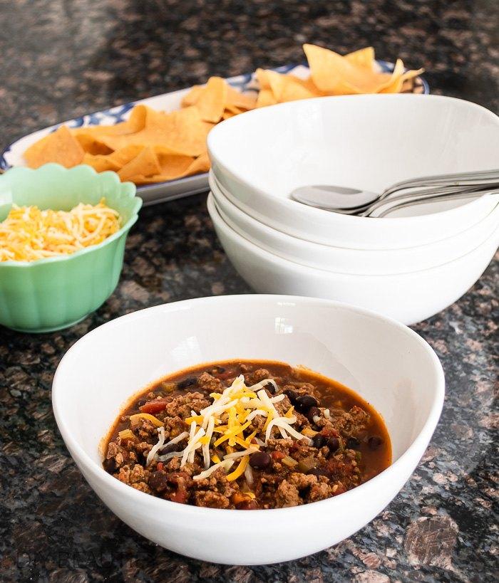 southwest style chili