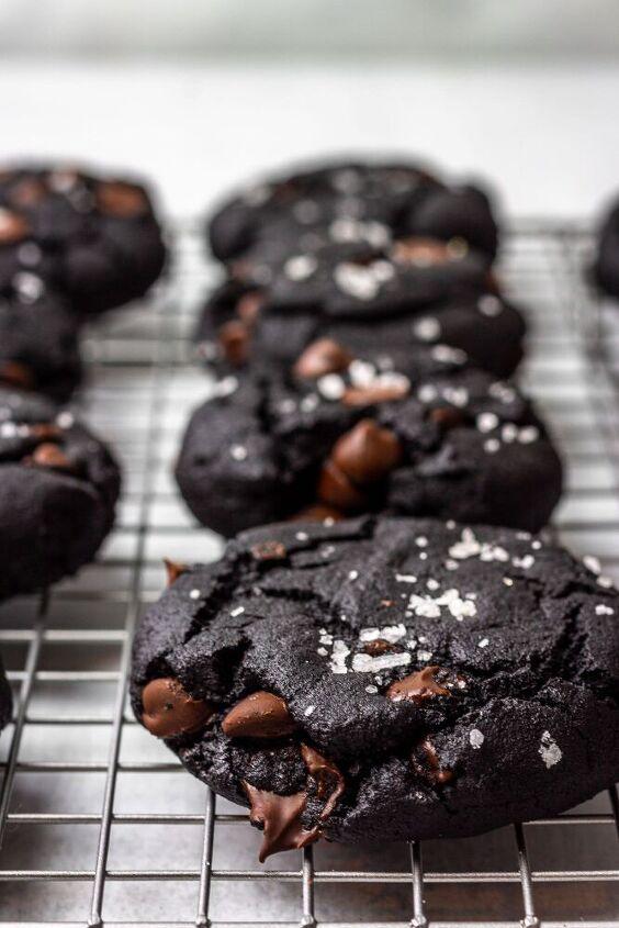 paleo double chocolate sea salt olive oil cookies a paleo dessert