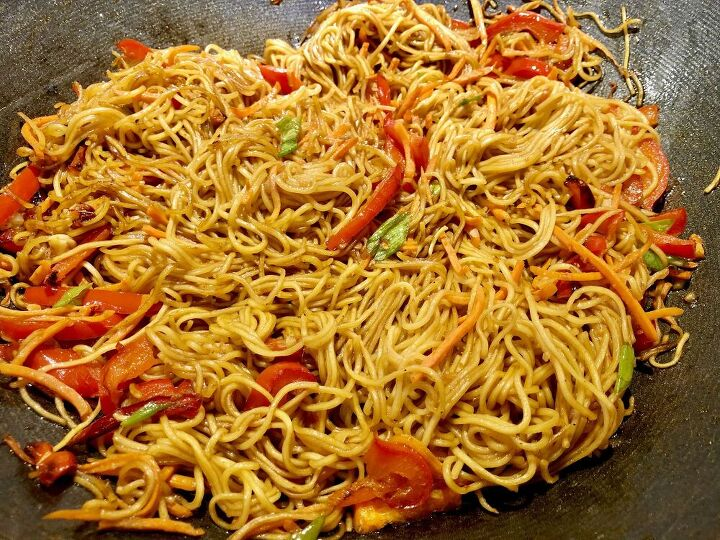 easy spicy szechuan noodles