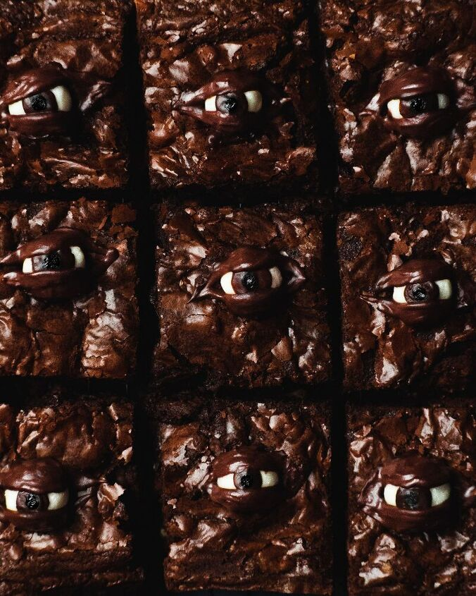 spooky eyed brownies not for the faint hearted