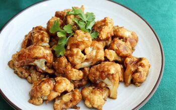 Baked Honey Cauliflower Wings