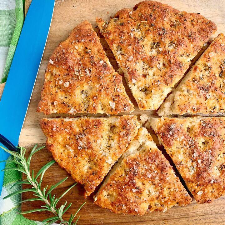 2 ingredient dough focaccia