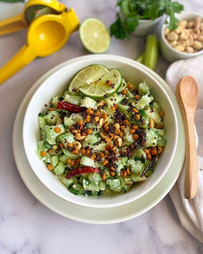 cucumber koshimbir salad