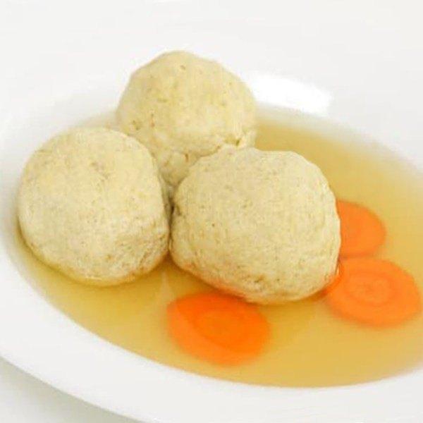 chicken soup with matzo balls gluten free