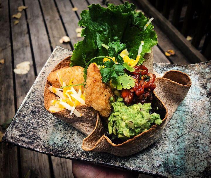 edible taco bowls
