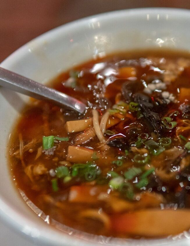 homemade hot sour soup takeout
