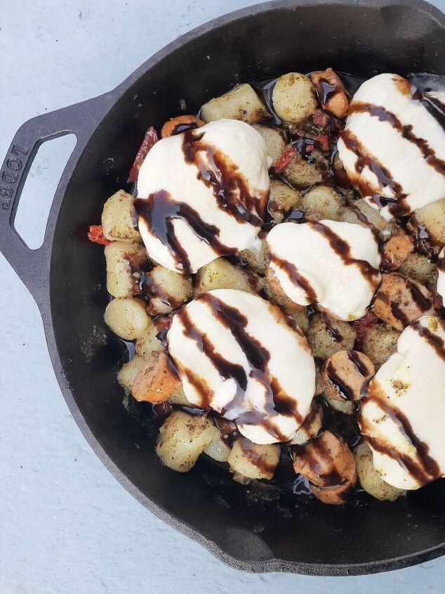cauliflower gnocchi italian skillet