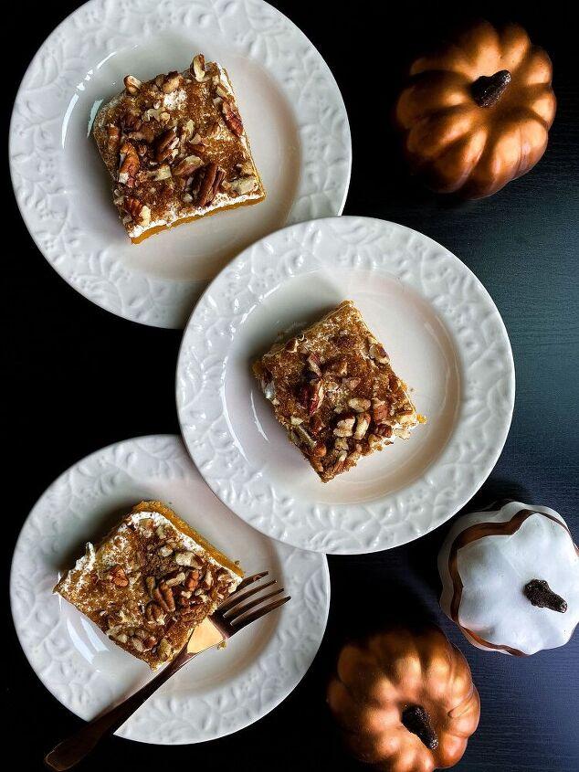 no bake pumpkin pie bars
