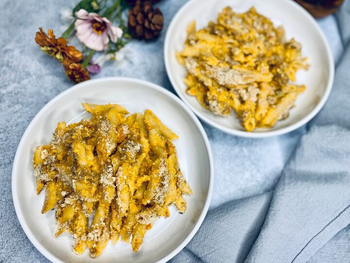 s 15 fabulous fall dishes that feature butternut squash, Creamy Butternut Squash Pasta and Sausage