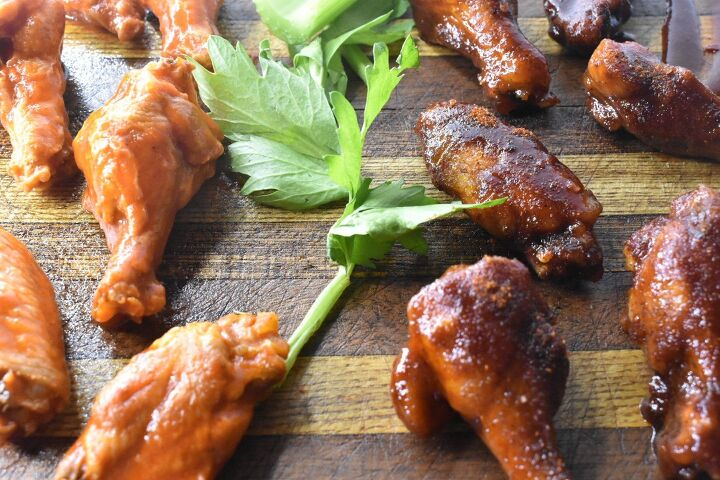 s 31 fun snacks and dishes to serve your team on game day, Buffalo BBQ Party Wings