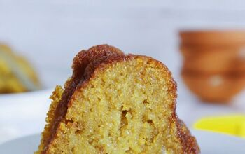 Golden Butter Rum Cake