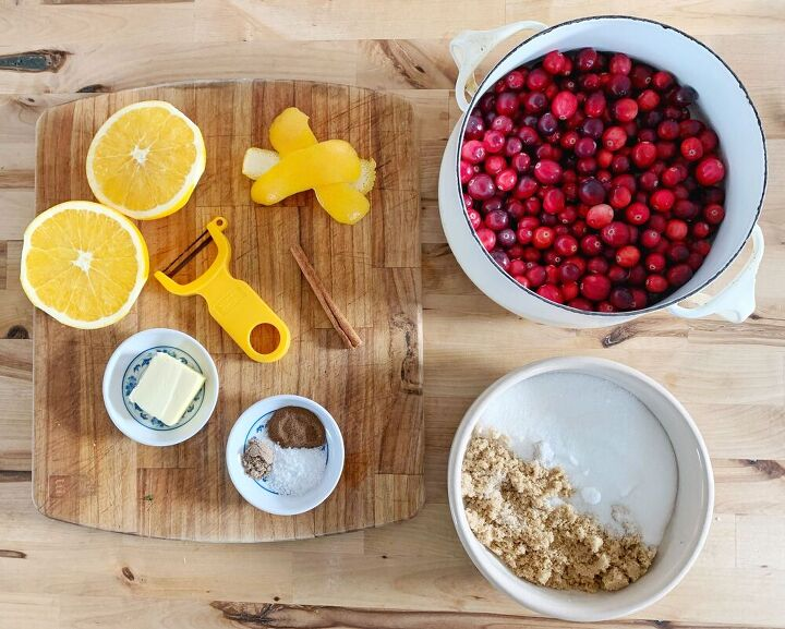 easiest homemade cranberry sauce