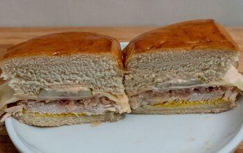Leftover Thanksgiving Sandwich: Cuban Reuben