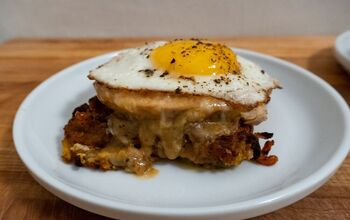 Leftover Thanksgiving Sandwich: Croque Madame