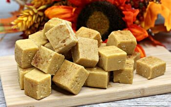 Easy to Make Pumpkin Spice Fudge
