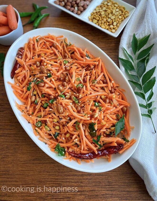 carrot koshimbir