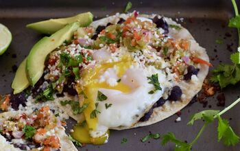 Easy Huevos Rancheros With Black Beans and Cotija