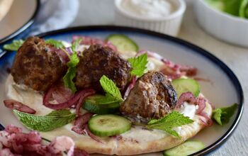 Spiced Lamb Meatballs With Marinated Sumac Onions