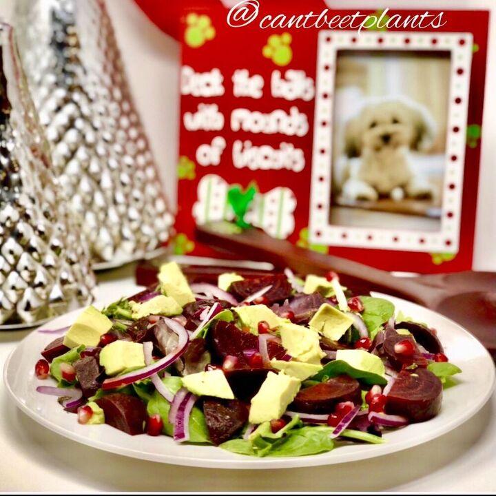beet and avocado salad