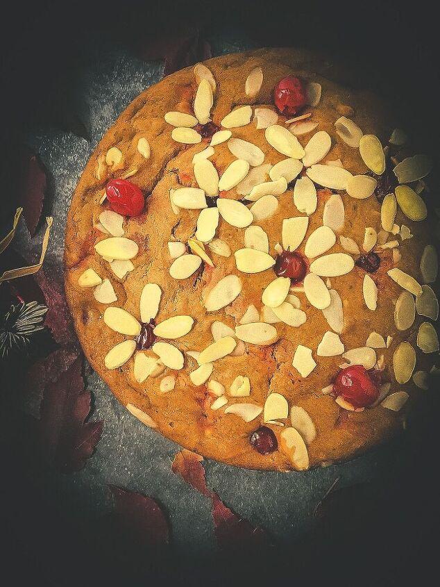 egg free cherry almond cake