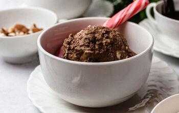 Dairy Free Christmas Cookie Ice Cream - A Low FODMAP Dessert
