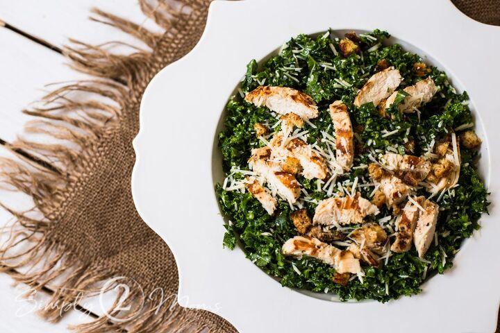 the best grilled chicken kale salad