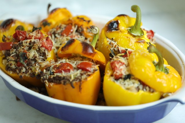 s 15 flavorful stuffed pepper recipes everyone will love, The BEST Italian Stuffed Peppers