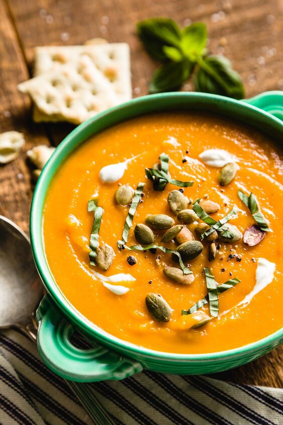 s the top 10 soup recipes of 2020, Butternut Squash Soup