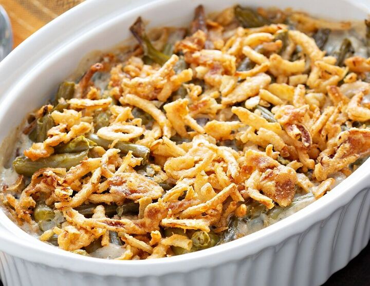 green bean brussels sprouts casserole