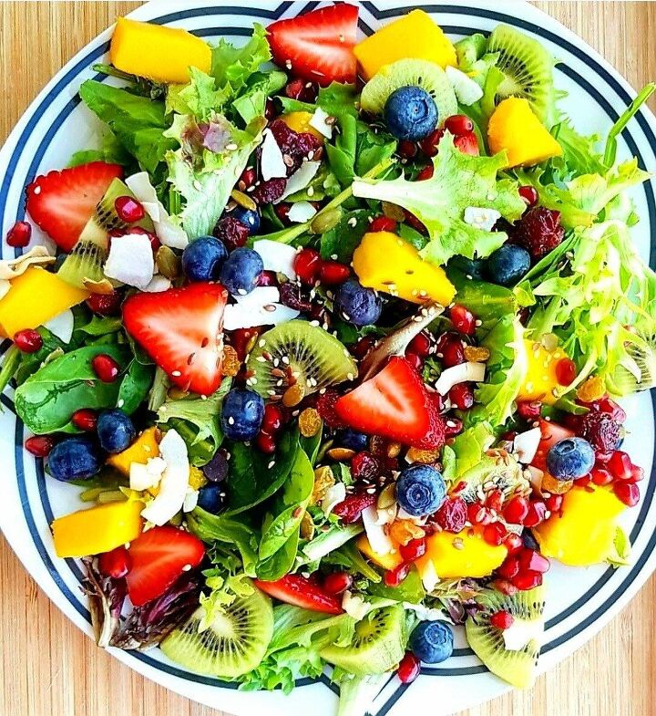 exotic summer salad