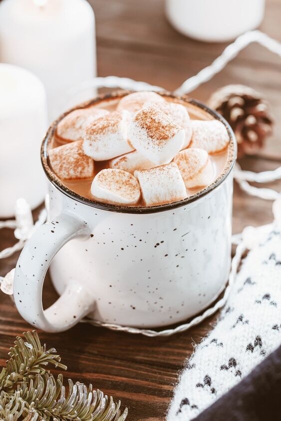 s how to make the ultimate cup of cocoa 10 ways, Cinnamon Hot Cocoa Mix