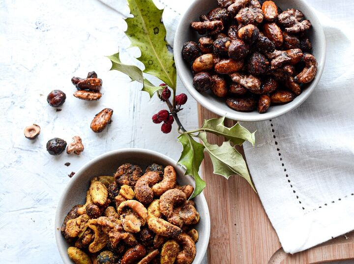 spiced party nuts 2 ways