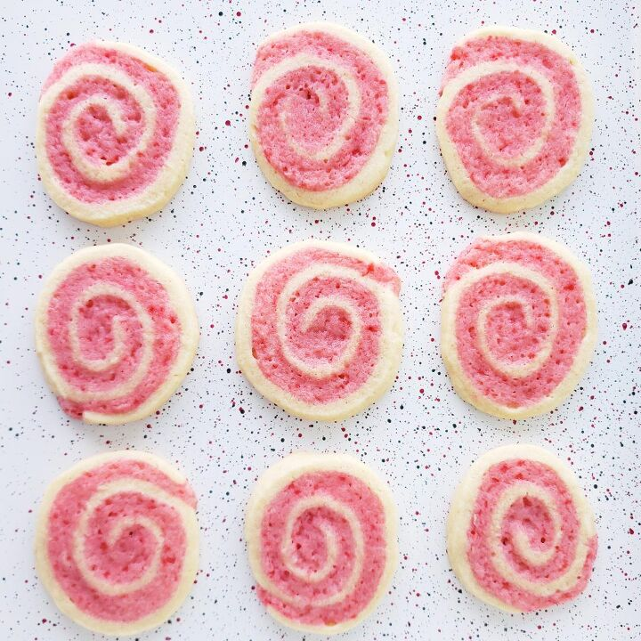 s 20 tried and true christmas cookies we re saving now for next year, Crushed Candy Cane Pinwheel Cookies
