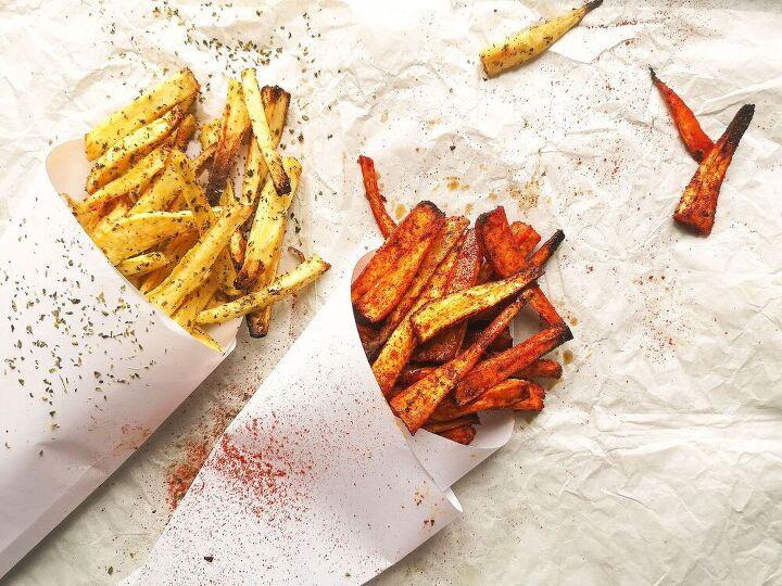 sweet chili parsnip fries