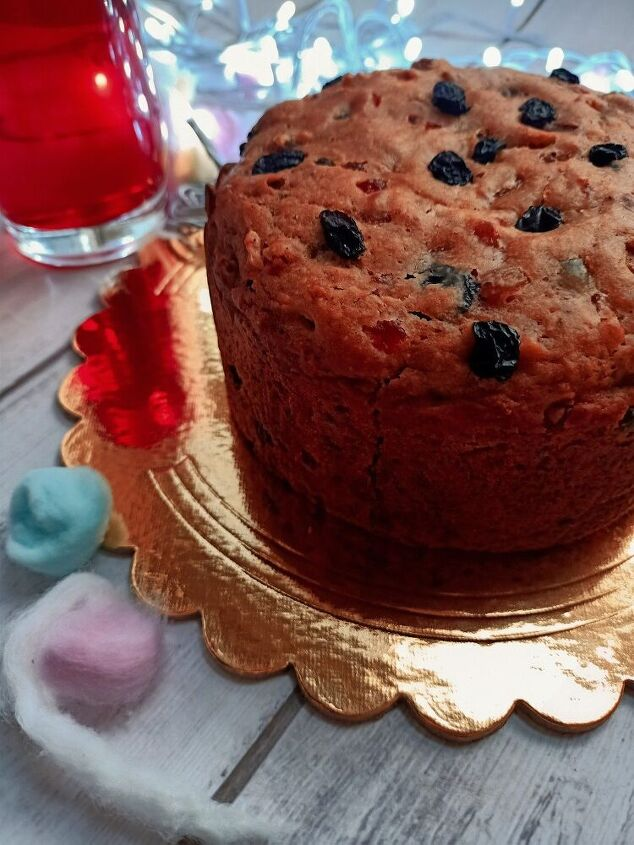 eggless christmas fruit cake