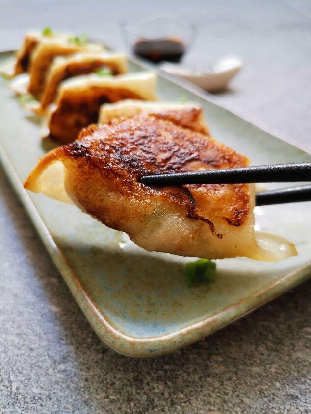 classic pork gyoza