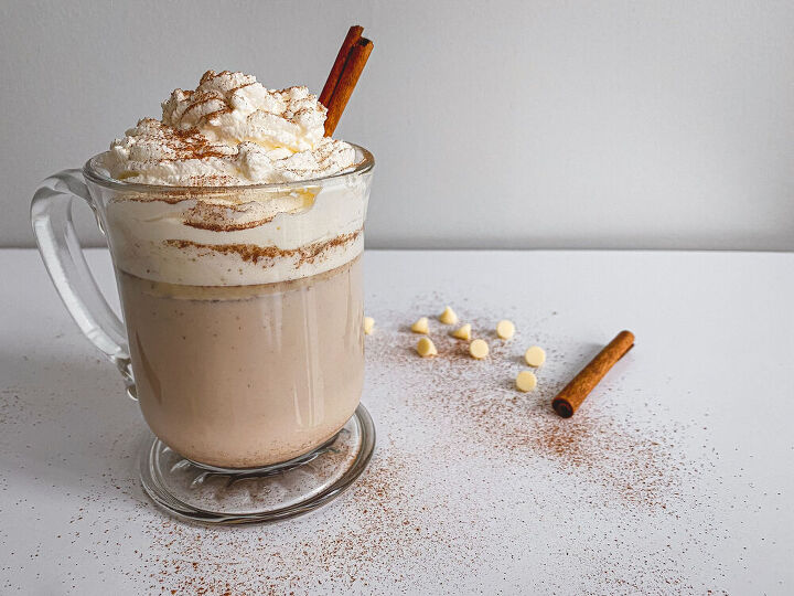 quick and easy snickerdoodle hot chocolate