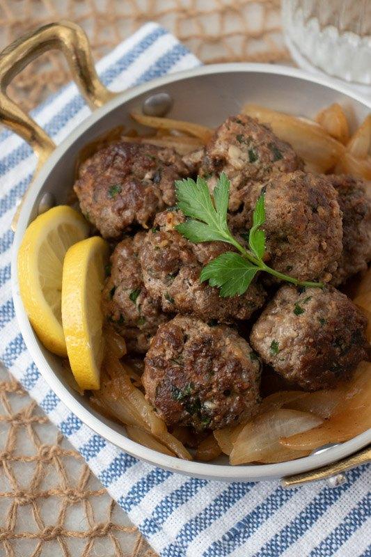 simonetta s lemon meatballs