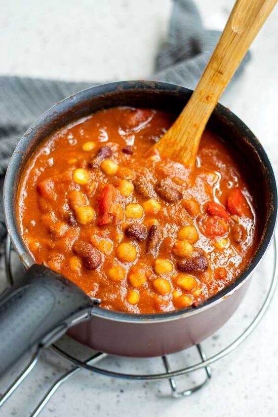 s 15 make ahead dishes that freeze well, Vegetarian Pumpkin Chili Recipe With Rice