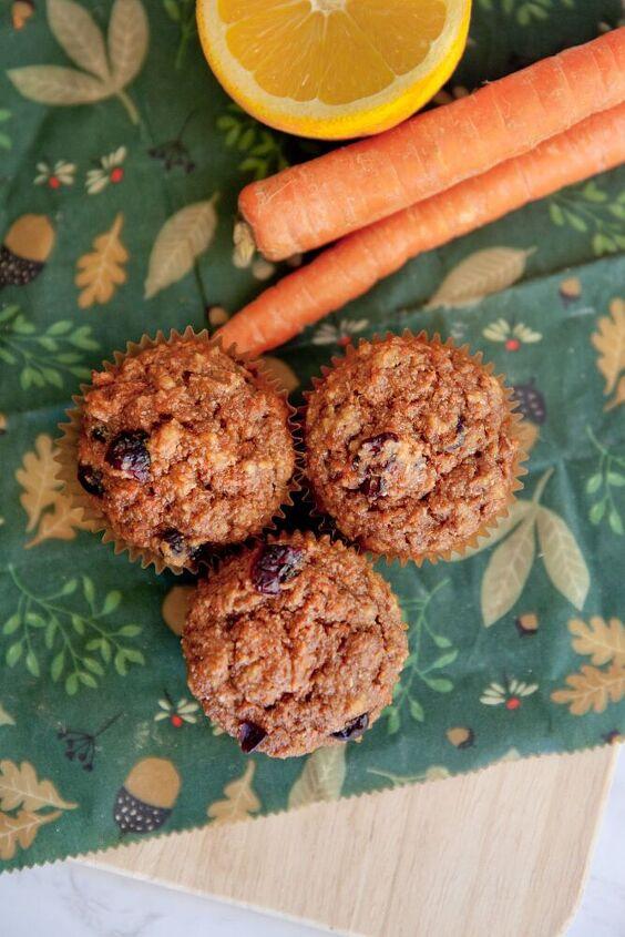 carrot orange muffins