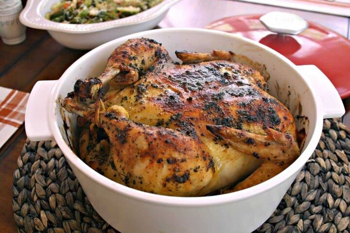 sweet basil roast chicken