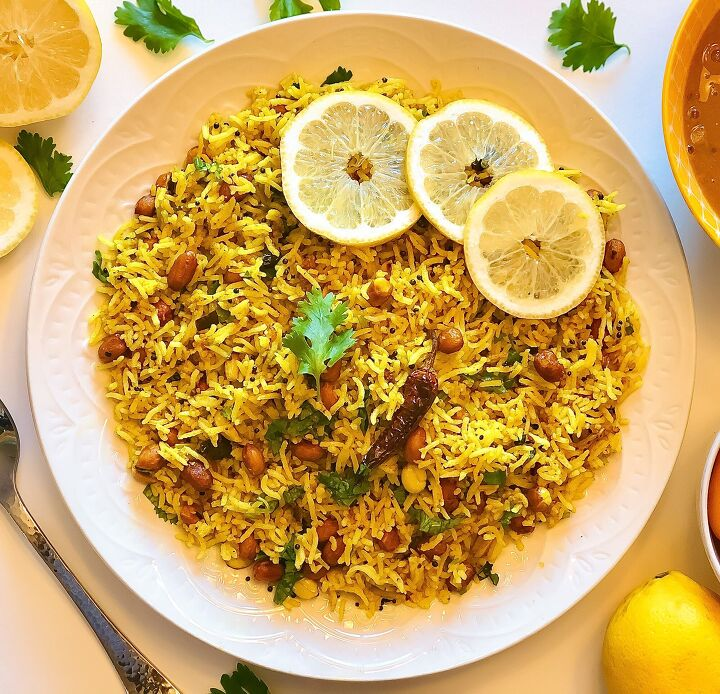 s 15 lemony salads and sides for all you citrus lovers, Lemon Rice
