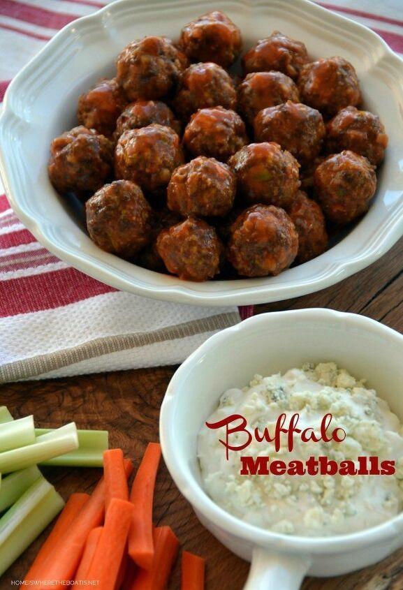 touchdown buffalo meatballs