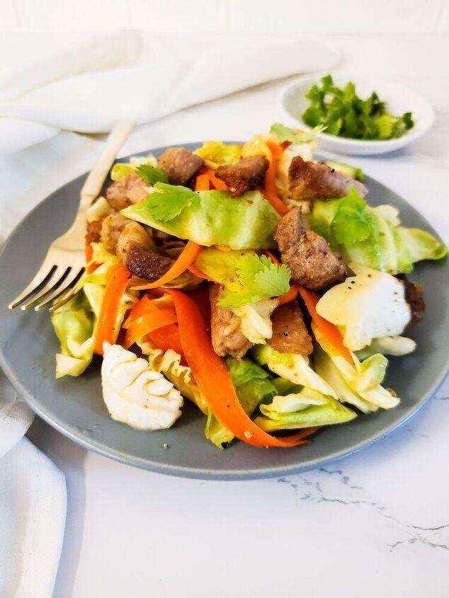 banh mi pork salad