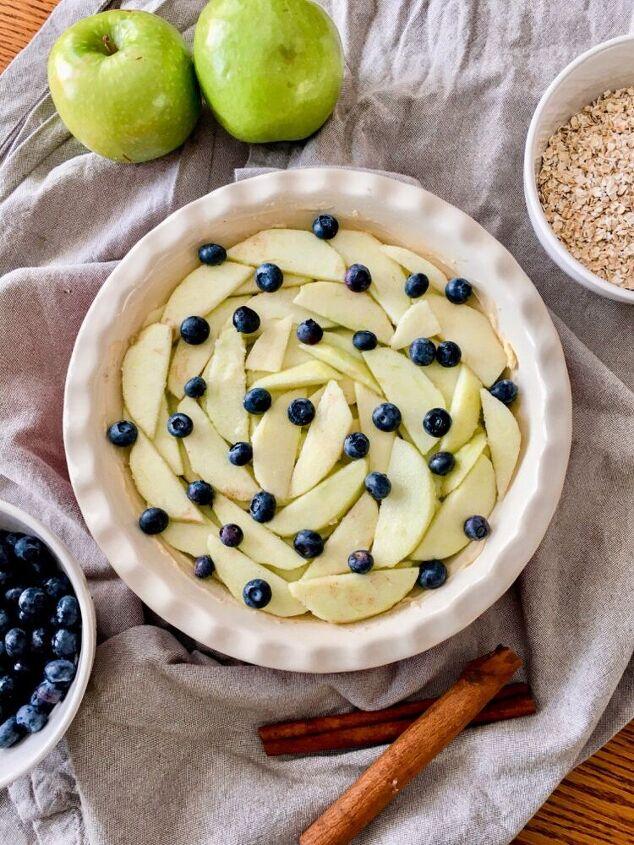 blueberry apple crisp