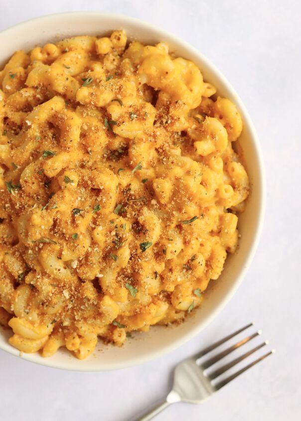 s 15 cheesiest mac cheese recipes, Pumpkin Mac and Cheese