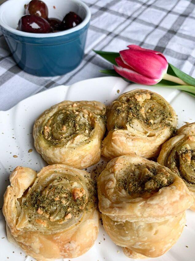 za atar and feta pastry